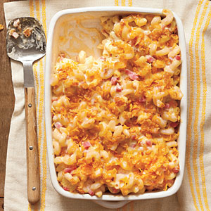 Nutritious Baked Smokin' Macaroni and Cheese