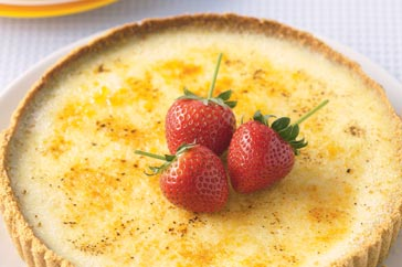 Mouth-Watering Crème  Brulee Cheesecake