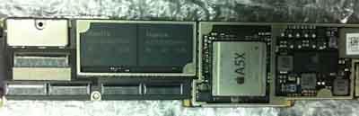iPad 3 CPU  A5X A6