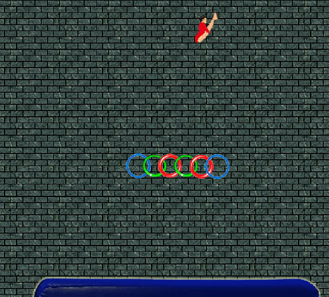 Free Gymnastics game powered by physics
